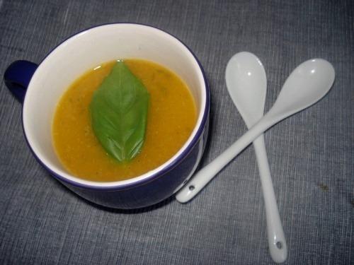 Овощной суп-пюре с тыквой