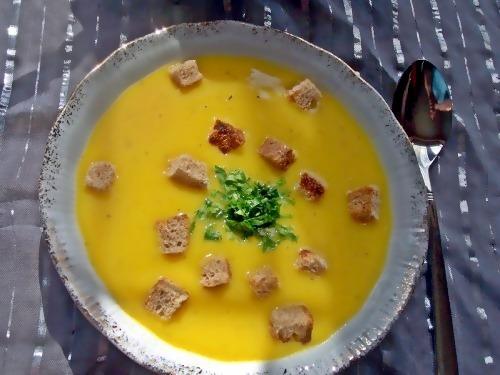 Картопляно-морквяний суп-пюре