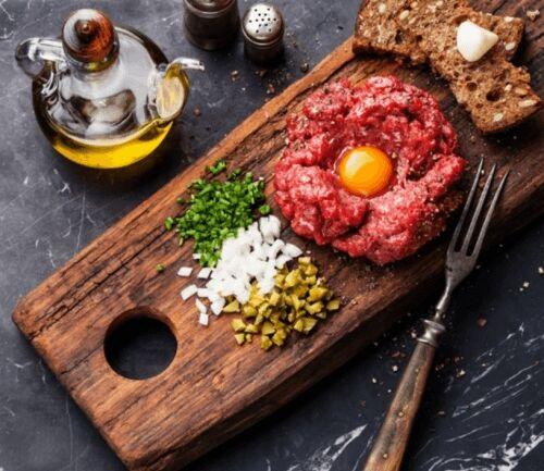 Тартар із яловичини