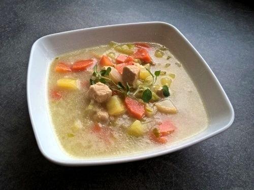 Суп из пекинской капусты с мясом