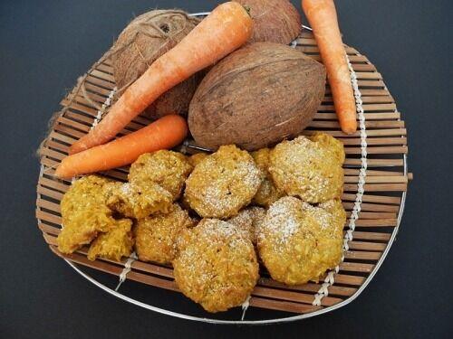 Морковно-кокосовое печенье