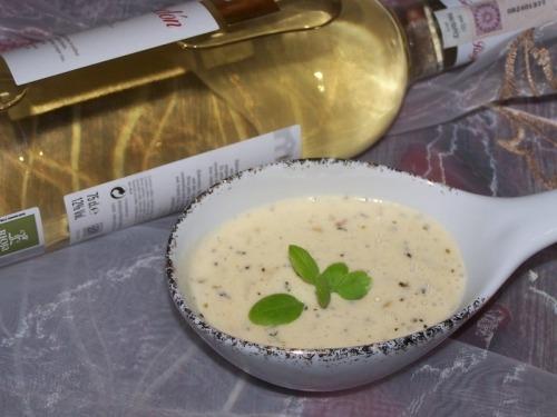 Сливочный соус с плавленым сыром