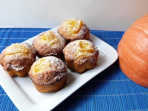 Апельсиновые маффины с тыквой