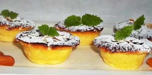 Творожные кексы с абрикосами
