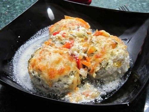 Ежики в сливочном соусе рецепт пошагово
