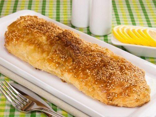 Рыба, запеченная в слоеном тесте