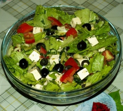 приготовление салати фото