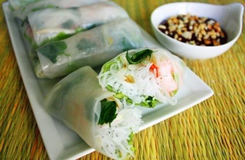 В'єтнамські спрінг-роли з креветками