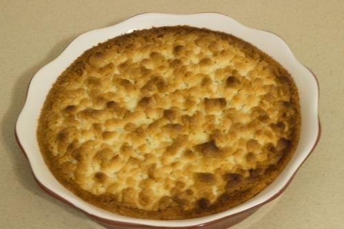 Тертий пиріг з сиром
